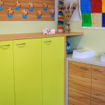 Volksschule Klassenzimmer limette